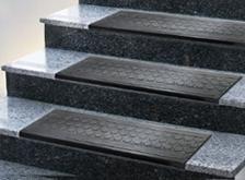 Treppenauflagen aus Gummi