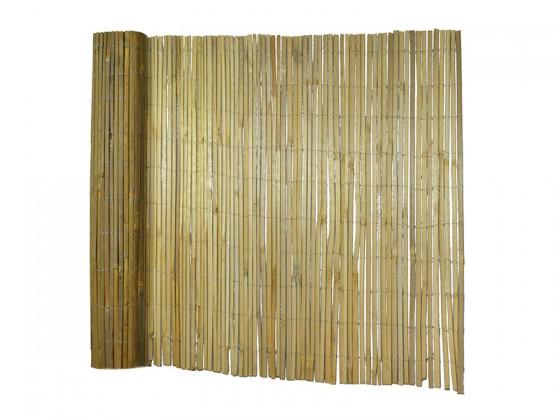 Bambus-Sichtschutzzaun Brasil | Natur | Gespaltenes Bambusrohr