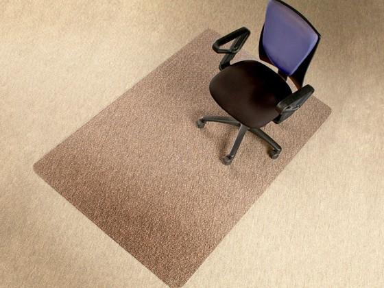 Bodenschutzmatte für Teppichböden, rechteckig