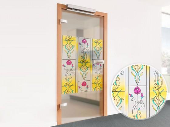 Fensterfolie Dekor