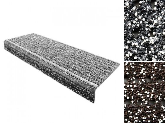 Sicherheits-Stufenmatte für Aussenbereiche   2 Farben