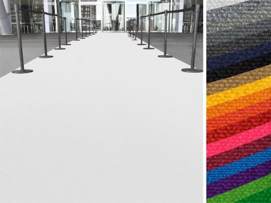 Event- und Messeteppich auf Maß   Expo   2 Breiten   18 Farben
