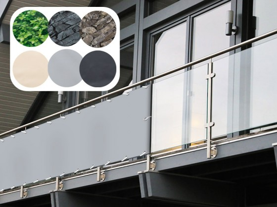 PVC-Balkonsichtschutz