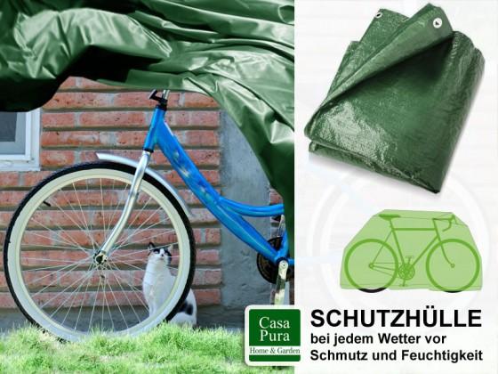 Fahrradabdeckung | 230 x 120 cm | grün