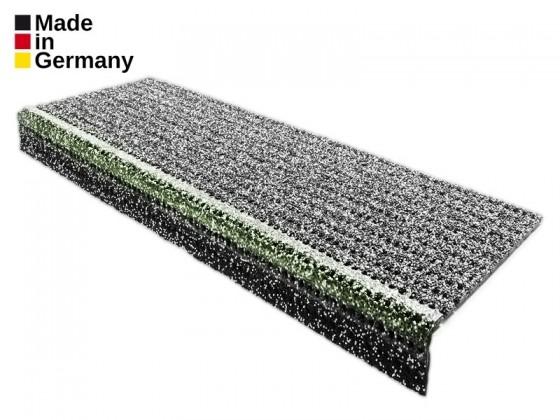 Sicherheits-Stufenmatte mit Granulatbeschichtung