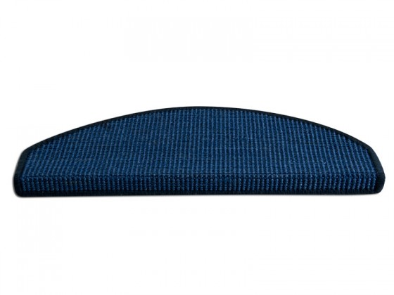 Sisal-Stufenmatten Pure Nature Sisal blau