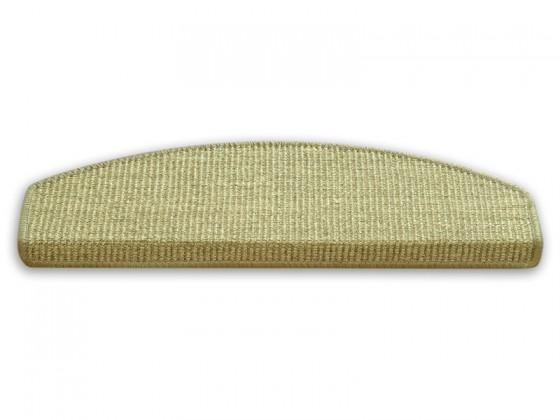 Sisal-Stufenmatten Sisal beige-grünlich, 2 Grössen, Spitzenqualität