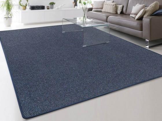 Moderner Teppich-Läufer Nach Mass In Blau