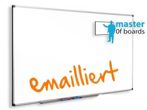 Whiteboard | Master of Boards | Emailliert & Magnetisch | 13 Grössen