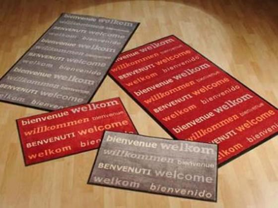 """Designmatte """"Willkommen"""""""