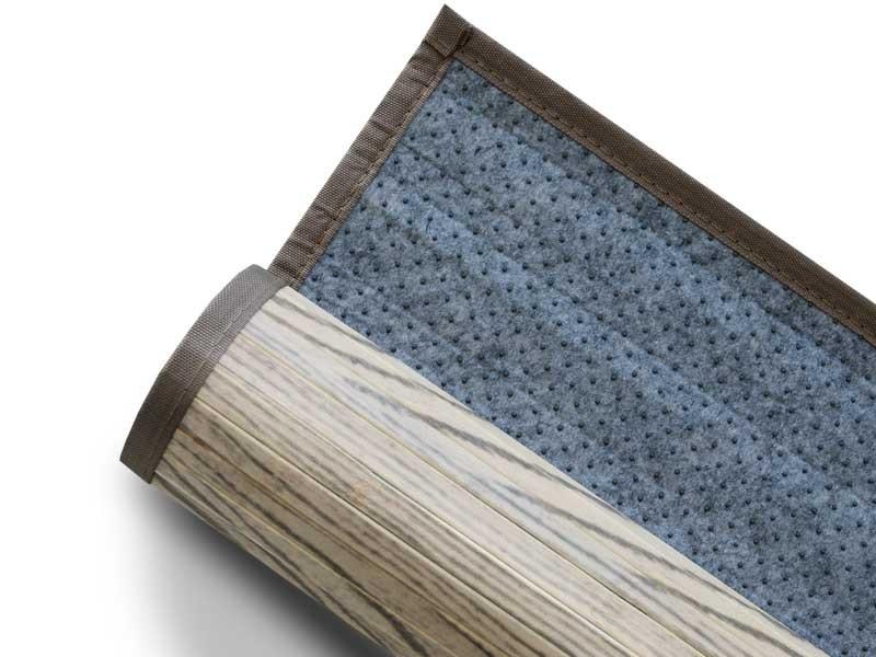 Bambus Teppich Magenta Schutzmatten Ch