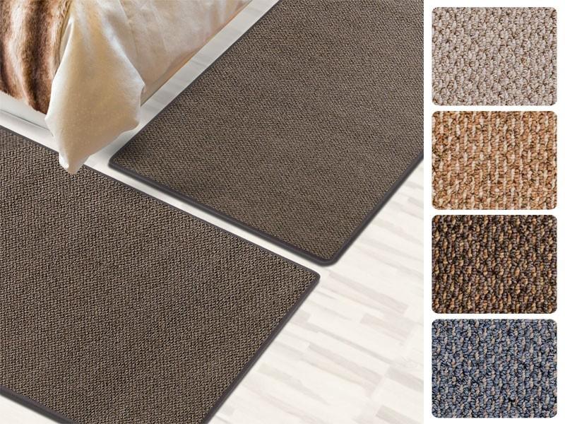 bettumrandung coral 3 teilig 3 gr ssen 4 farben. Black Bedroom Furniture Sets. Home Design Ideas