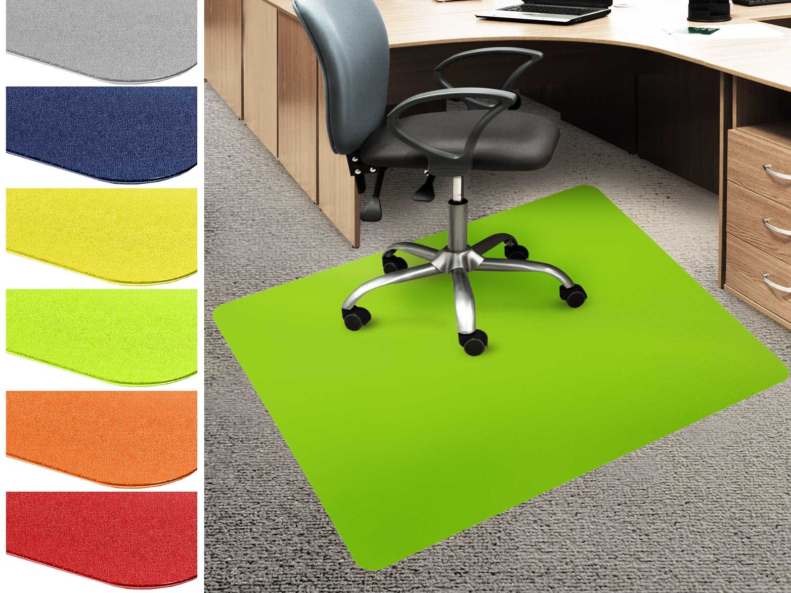 bodenschutzmatte economy f r teppichb den farbig. Black Bedroom Furniture Sets. Home Design Ideas