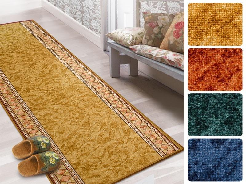 teppich l ufer auf mass gekettelt r gen 4 farben. Black Bedroom Furniture Sets. Home Design Ideas