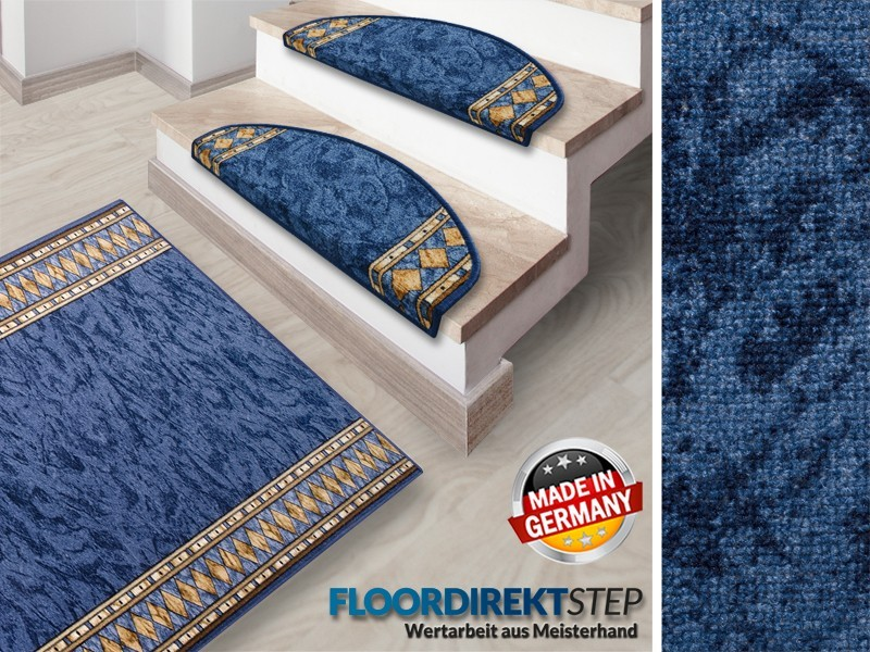feinschlingen teppich nach mass blau hergestellt in. Black Bedroom Furniture Sets. Home Design Ideas