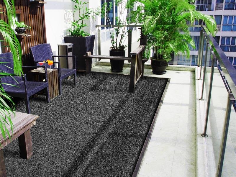 Berühmt IKEA 9-er Pack Fliese Rasen Bodenrost Balkon Terrasse Bodenbelag @DN_55