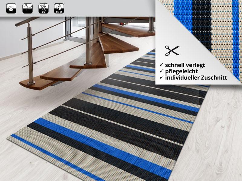 kunststoffteppich ravenna indoorteppich meterware 3. Black Bedroom Furniture Sets. Home Design Ideas