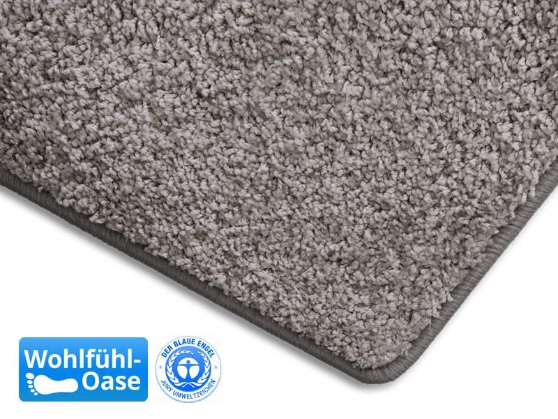shaggy teppich grau auf mass hergestellt in deutschland. Black Bedroom Furniture Sets. Home Design Ideas