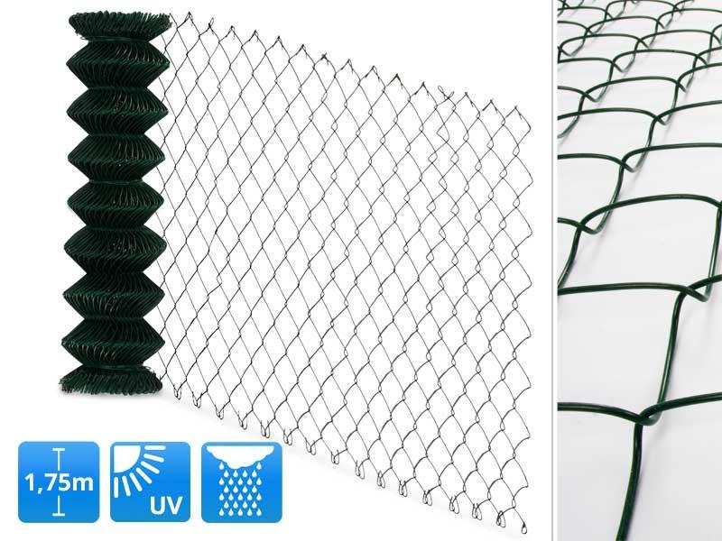 Maschendrahtzaun grün | schutzmatten.ch