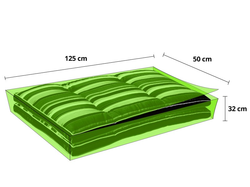 wetterfeste schutzh lle polsterauflagen. Black Bedroom Furniture Sets. Home Design Ideas