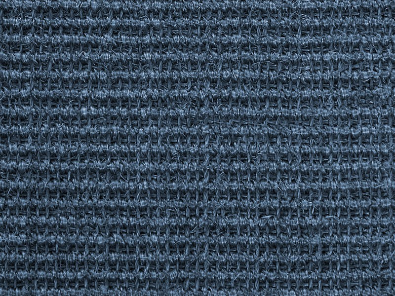 sisalteppich in blau. Black Bedroom Furniture Sets. Home Design Ideas