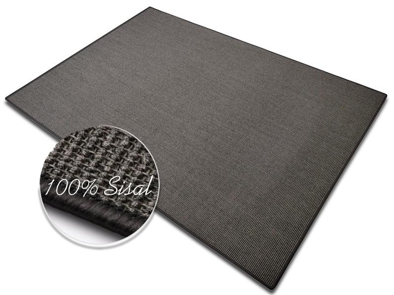 Sisalteppich Grau Sylt Schutzmatten Ch