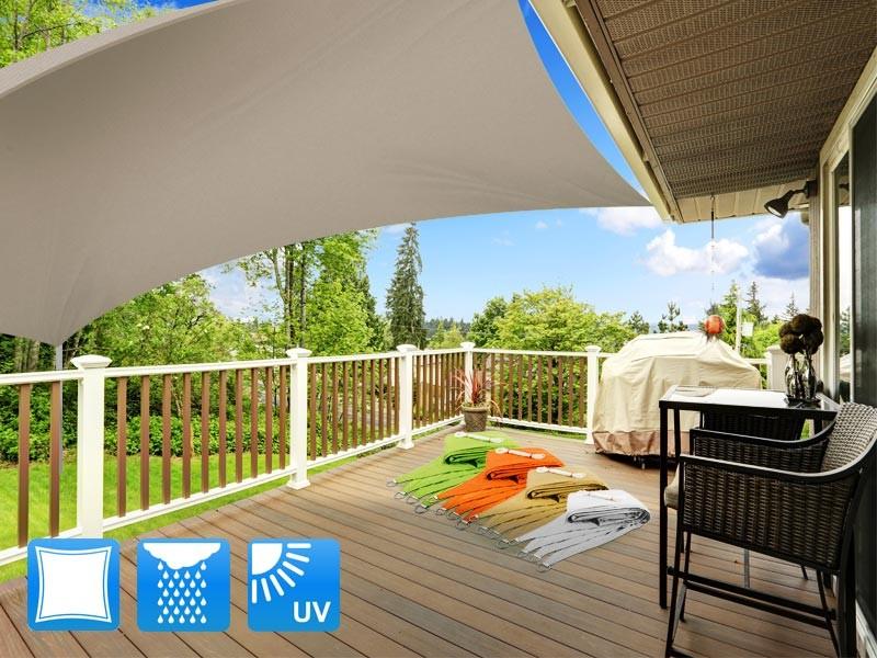 balkon sonnensegel. Black Bedroom Furniture Sets. Home Design Ideas