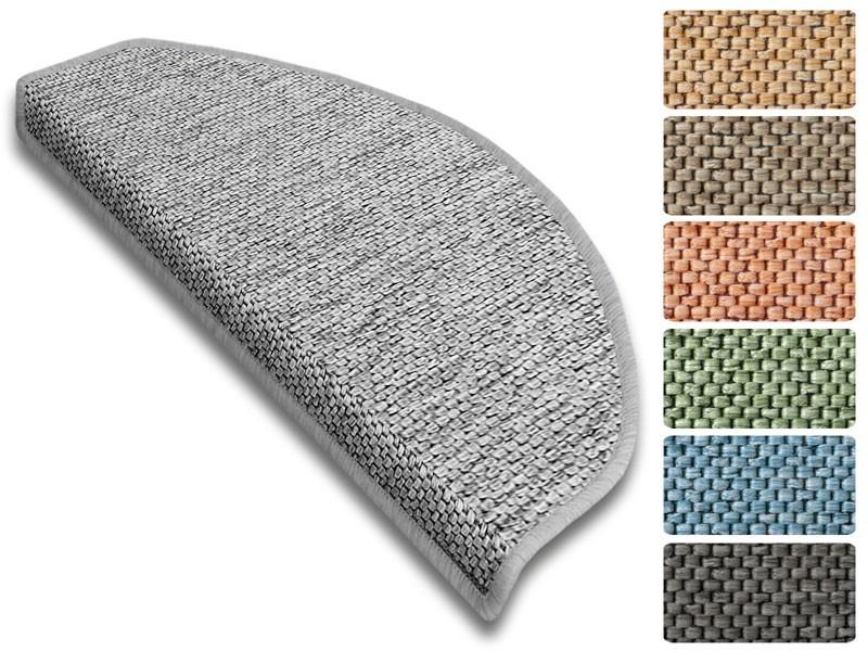 stufenmatte sabang sisaloptik halbrund oder eckig 7. Black Bedroom Furniture Sets. Home Design Ideas