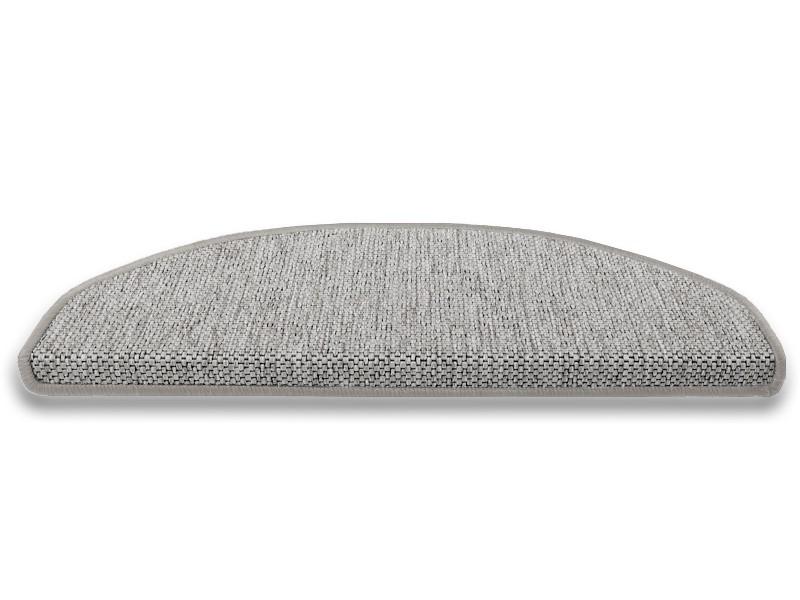 stufenmatten sisal optik silber. Black Bedroom Furniture Sets. Home Design Ideas