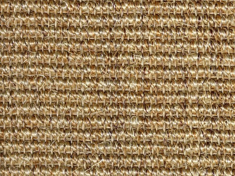 Sisal Stufenmatten Sand Dunkelbeige 2 Grossen