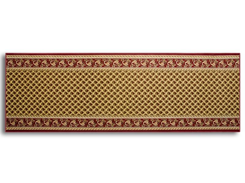 TeppichLäufer nach Mass gekettelt, hergestellt in