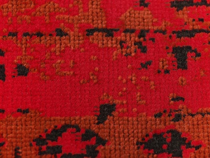 Moderne Teppiche Vintage Rot Schutzmatten Ch