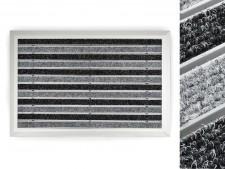 Alu-Türmatte | Spectral | Textilrips | Anthrazit / Schwarz | 3 Größen