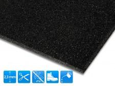 Antirutschmatte Mineral-Grip | Schwarz | Zuschnitt | 90cm Breite