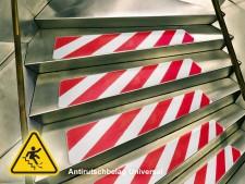 Antirutschband Warnmarkierung in Streifen | selbstklebend