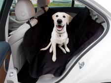 Autoschutzdecke | Zum Schutz der Rückbank | Schwarz | In 2 Grössen