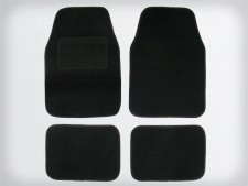 Autofussmatten-Set Monza, 4tlg, schwarz