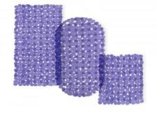 Wanneneinlage | Bubble | Lila-Transparent | Casa Pura | als Badewanneneinlage und Duschmatte erhältlich | 3 Grössen
