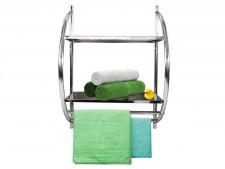 Badregal mit Handtuchhalter
