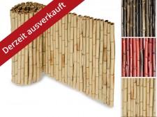 Bambus-Sichtschutzzaun | 3 Grössen | 3 Farben