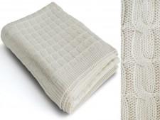 Baumwoll-Wohndecken