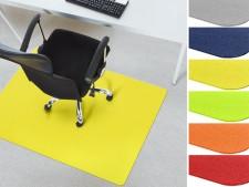 farbige Bodenschutzmatten Teppichboden