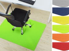 farbige Bodenschutzmatten