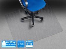 Teppich-Bodenschutzmatte | Hoch belastbar | Ab 90 kg Gewicht