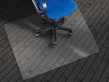 Bodenschutzmatte für Hartböden | Aus recyceltem PET | Transparent