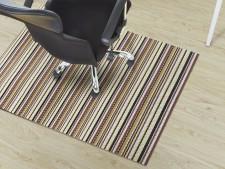 Bodenschutzmatte für Hartboden, Design Asti