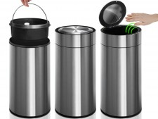 Mülleimer Ivan | Edelstahl | Mit Bewegungssensor