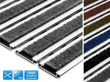 Aluflex SR carpet – Schmutzschleuse mit Polyamid-Teppichstreifen