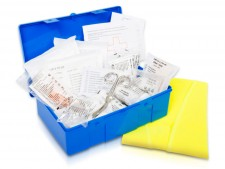 KFZ Verbandskasten | Kunststoffkoffer | optional inkl. Warnweste