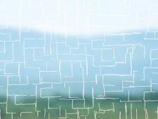 Selbstklebende Folie transparent